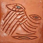 Eyes Adrift - Tile Art Print