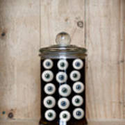 Eyes In A Jar Art Print