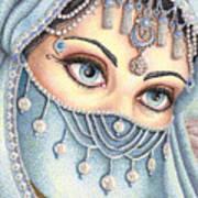 Eyes Like Water Art Print