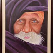Eyes Of Rajasthan Art Print