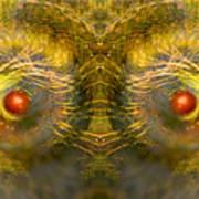 Eyes Of The Garden-1 Art Print