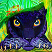 Eyes Of The Rainforest Art Print