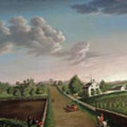 Ezekiel Hersey Derby Farm Art Print