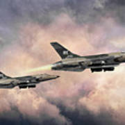 F-105 Thunderchief Art Print