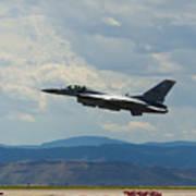 F-16 Tower Art Print