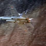 F 18 Hornet Art Print