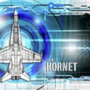 F/a-18 Hornet Art Print