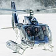 F-hana Eurocopter Ec-130 Helicopter Landing Art Print