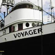 F V Voyager Art Print