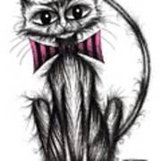 Fab Cat Art Print