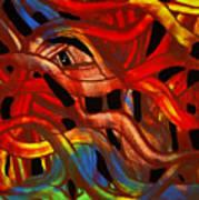 Fabric Of The Universe Art Print