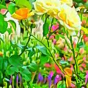 Fabulous Florals 333 Art Print