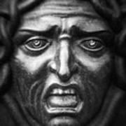 Face #9874 Art Print