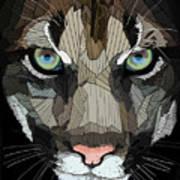 Face De Puma Art Print
