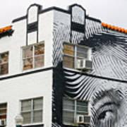 Face House, Calle Ocho Art Print