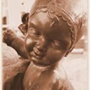 Face Of An Angel Art Print