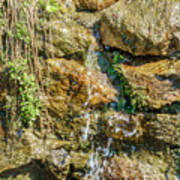 Face Of The Mountain Stream Art Print