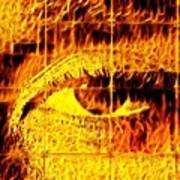 Face The Fire Art Print