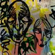 Weathered Friends Art Print