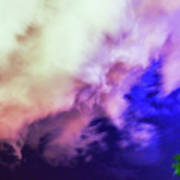 Faces In The Clouds 002 Art Print