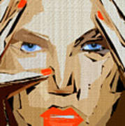 Facial Expressions Xix Art Print