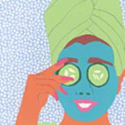 Facial Masque Art Print