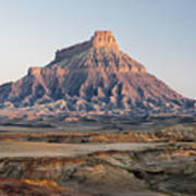 Factory Butte 0761 Art Print