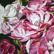 Fading Blooms Art Print