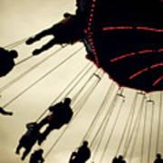 Fair Flying Print by Kerry Langel