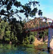 Fair Oaks Bridge Art Print