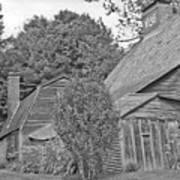 Fairbanks House Dedham Ma Art Print