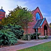Fairhope Alabama Methodist Church Art Print