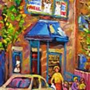 Fairmount Bagel Fairmount Street Montreal Art Print
