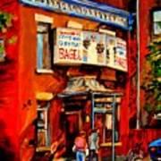 Fairmount Bagel Montreal Art Print