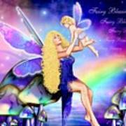 Fairy Blessing Art Print