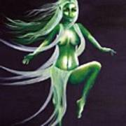 Fairy Of The Green Glens Art Print