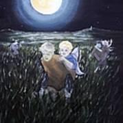 Fairy Races At Tara Art Print