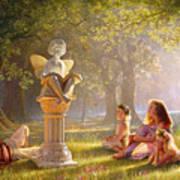 Fairy Tales  Art Print by Greg Olsen