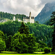 Fairytale Castle Neuschwanstein  Art Print