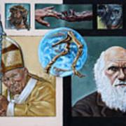 Faith And Evolution Art Print