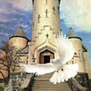 Faith Angel Art Print