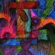 Faith Explosions Art Print