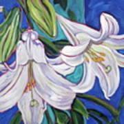 Faith Lily One Art Print