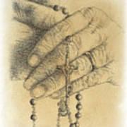 Faith Never Grows Old Art Print