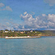 Fajardo Ferry Service To Culebra And Vieques Panorama Art Print