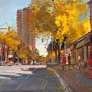 Fall 2010 Canada Art Print