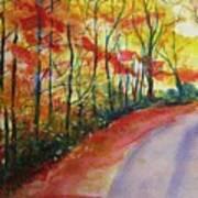 Fall Abstract Art Print