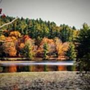 Fall At Bass Lake Art Print