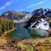 Fall At Ellery Lake Art Print