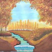 Fall At The Meadows Art Print
